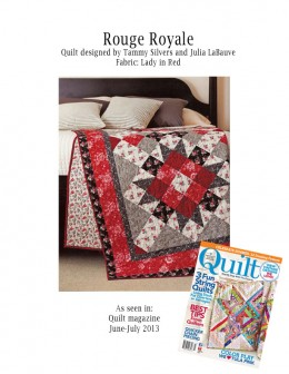 Quilt jun-jul 13 lady in red