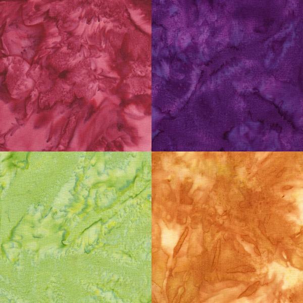 tissu batik faux-uni