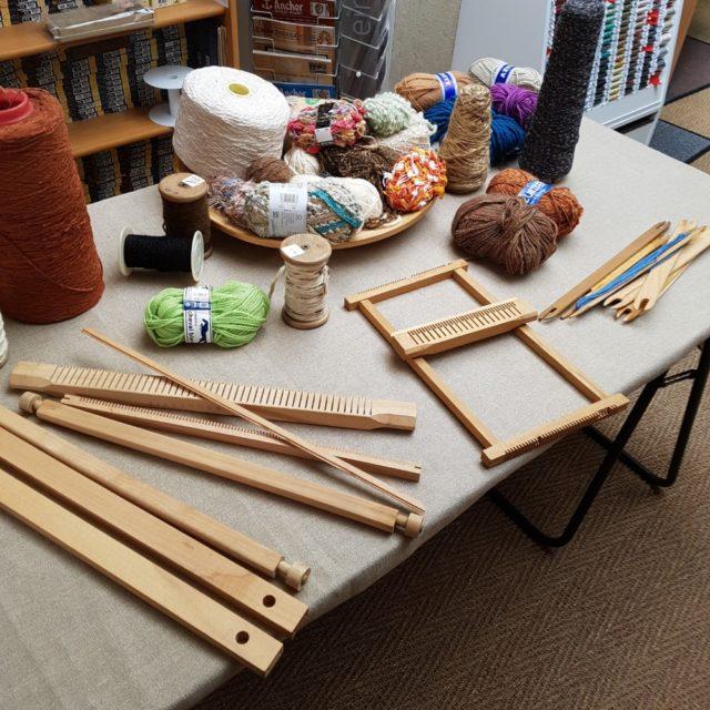 atelier tissage, apprendre à tisser