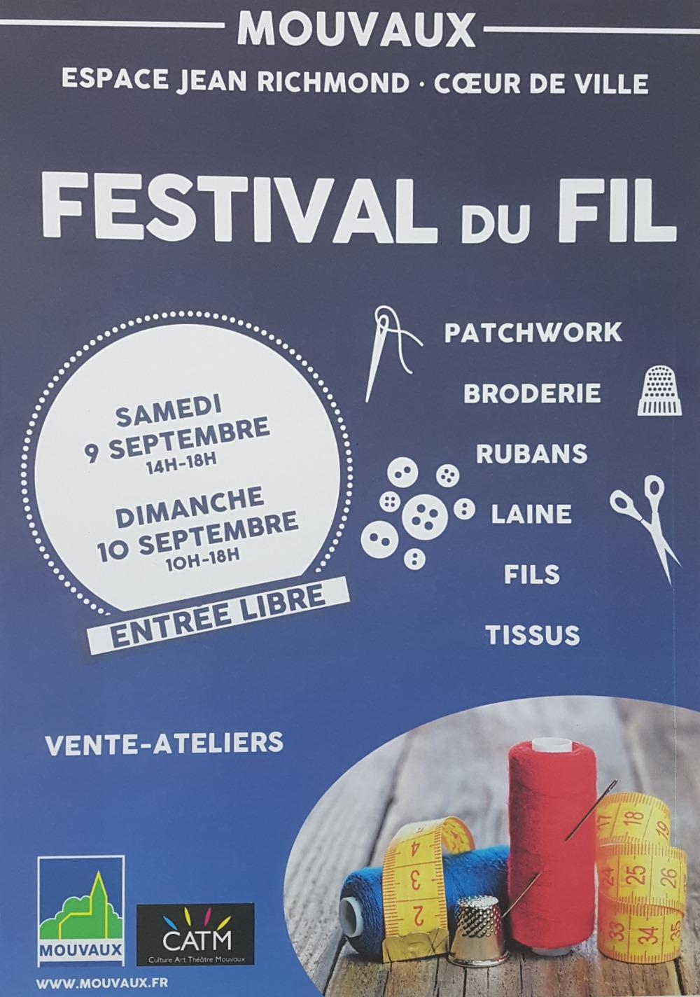 Festival du fil Mouvaux 2017