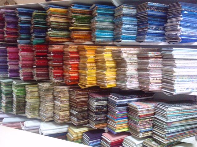 tissus patchwork à la mercerie de Quesnoy sur Deûle