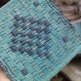 Tissage en coton lin et fil de papier
