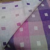 Tissage tissu double étoffe en pur lin