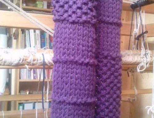 Une autre façon de tricoter avec l'azurite
