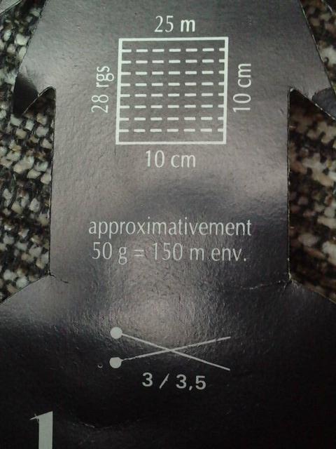 échantillon et numéro des aiguilles