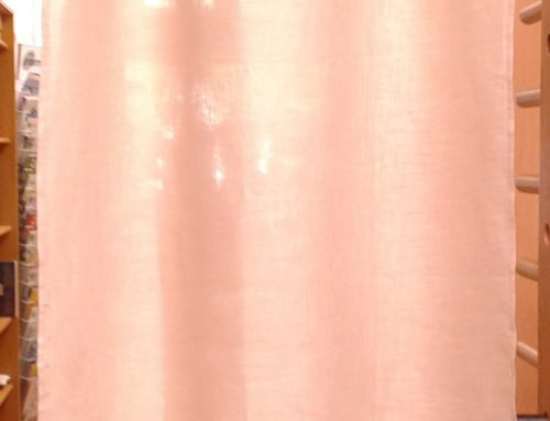 Du lin pour des rideaux
