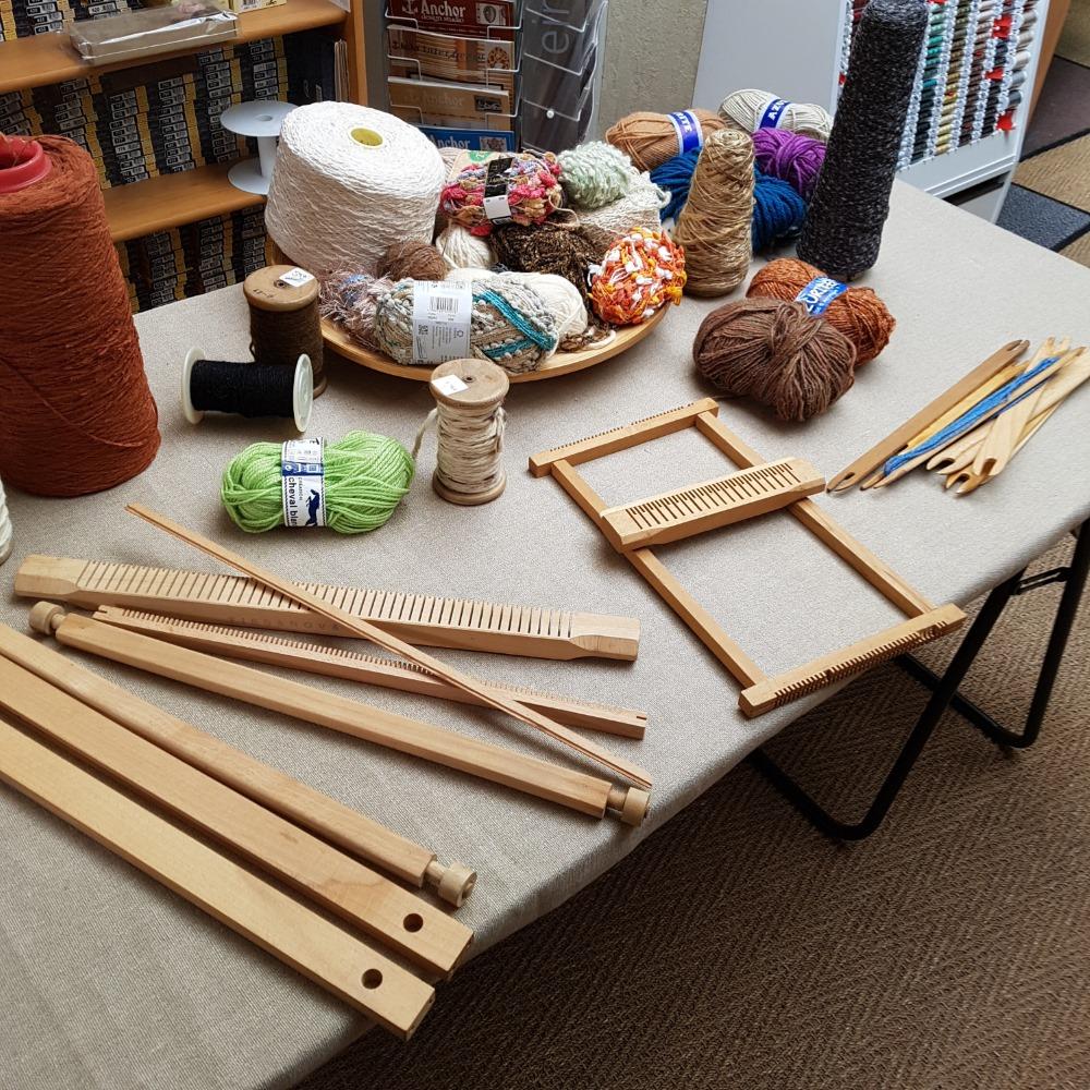 cours tapisserie - tissage débutant