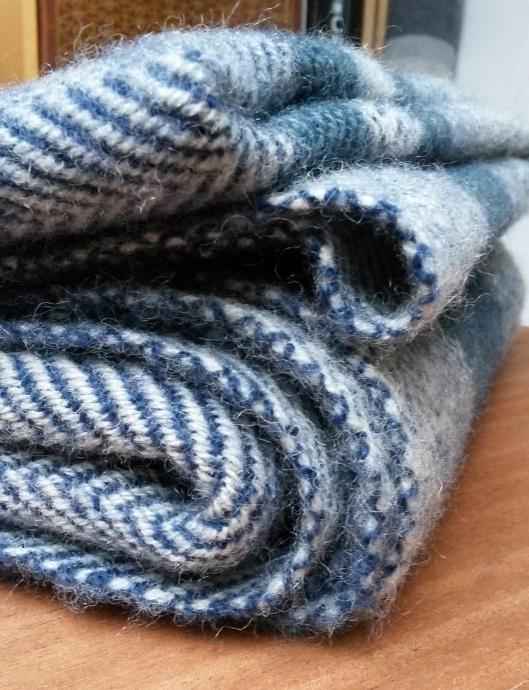 Bien chaud dans les tons bleus gris
